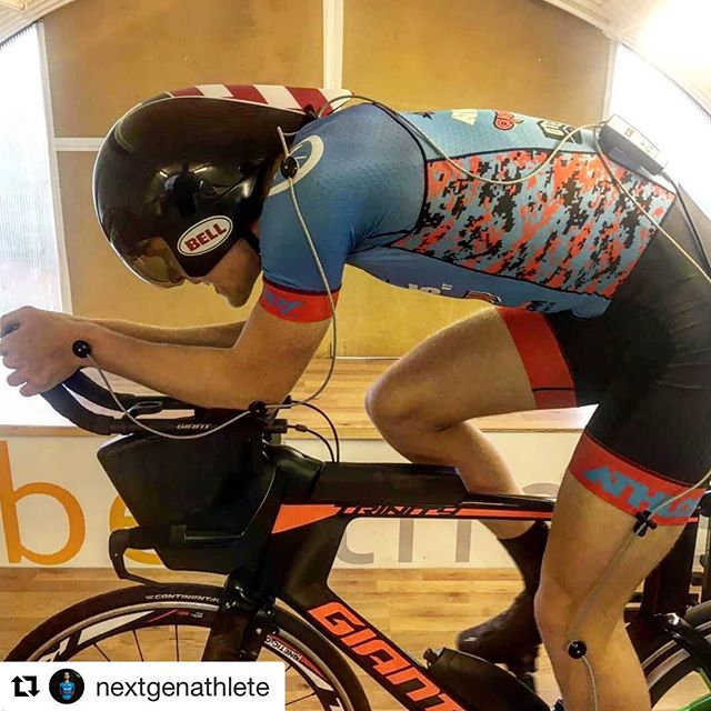 """#Repost @nextgenathlete with @get_repost ・・・ Long afternoon with @paul.ransome at @urban_endurance yesterday playing around with all things aero & retul. Aerocoach reckon the Kask Bambino doesn't work for 95% of its users, I think I'm fortunate enough to make the 5%. I love playing with every dimension of free speed and it's going to play a big role in my grand strategy for 2019 - Twat The Bike.  Having a 40'' chest but 29'' waist and having a decent level of back flexibility in my 6""""3 frame makes me quite anomalous for bike fitting. We've angled the armrests in slightly which forces a turtle dip. Rather than narrowing the pads too much and flaring the shoulders, this angle allows the frontal area to be minimised when shrugging without the shoulders rounding out.  The Laser was a big no no but it was a tough call between the Bambino and the Javelin. The Javelin looks slightly more aero when in the most extreme aero position but given the courses I'm likely to ride aren't going to be accommodating for the most perfect aero position, the 35% weight advantage of the Kask and the aero versatility it allows in/out the saddle makes it the best choice, for me.  Would I wear the Javelin if I was a pure time triallist? Absolutely. I'm not, I'm focusing on 70.3 and this weekends race has 16 tight turns over 40k, hence, the Javelin wouldn't fully reap its benefit on my body.  All courteousy of @paul.ransome of  @urban_endurance and @zoot_athlos_racing_team."""