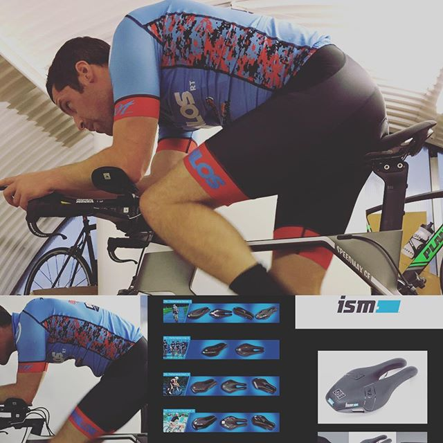 Excuse the pictures of @sr_zoot_athlos_racing_team_ backside but it has become a hot topic of his recent bike fitting. A very nice looking canyon triathlon bike but comes with an uncomfortable saddle, which was causing him to move around on the seat a lot and compromising his position. We settled on trying an ISM Narrow saddle with a split, short nose. Looking forward to trying this and optimising his aero tuck position. #comebackking #urbanendurance #bikefitting #retul #ismsaddle #triathlon #aero #canyonbike #zootathlos