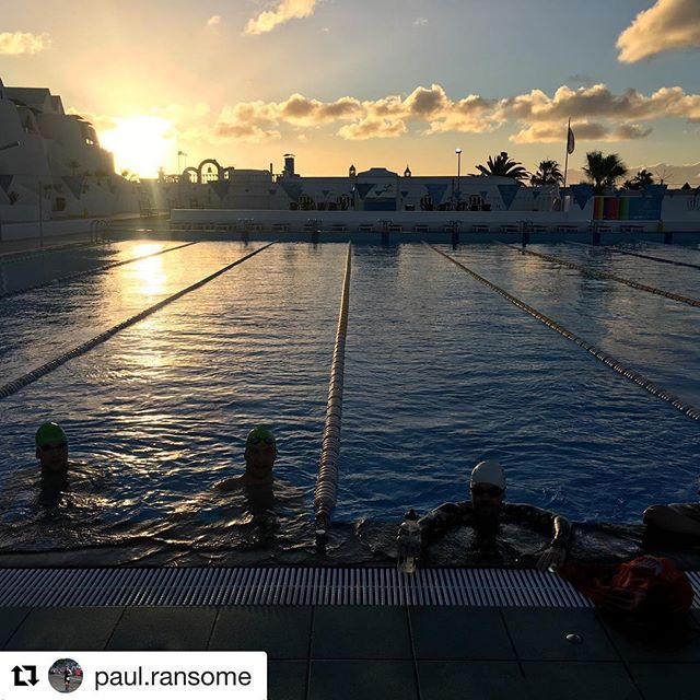 #Repost @paul.ransome with @get_repost ・・・ #sunrise #swim on Zoot althlos #trainingcamp #nofilter #triathlon #triathlontraining #triathlete #swimbikerun #trilife @otesportsgb @cycologybikesuk @urban_endurance @zootsports