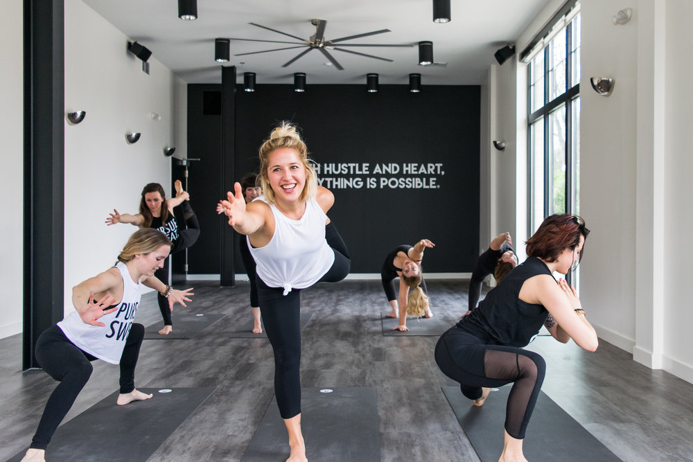 Bachelorette Yoga