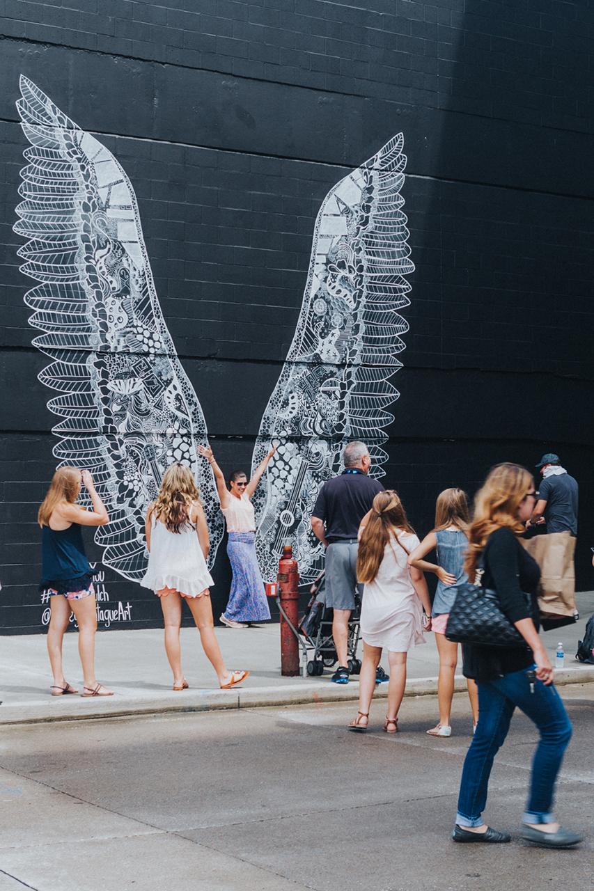 Nashlorette Wing Mural
