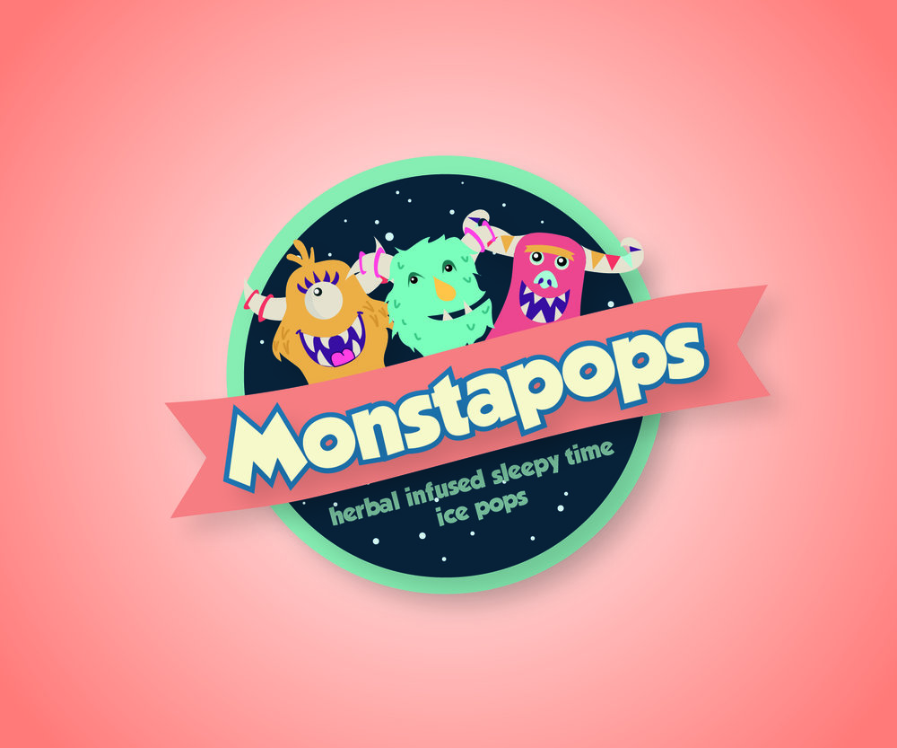 Monstapops, herbal sleepy-time popsicles