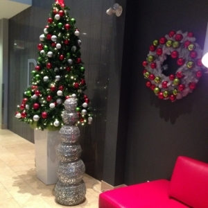 Toronto Office Corporate Holiday Display