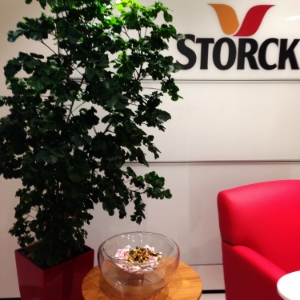 Storck Canada Mississauga head office reception area
