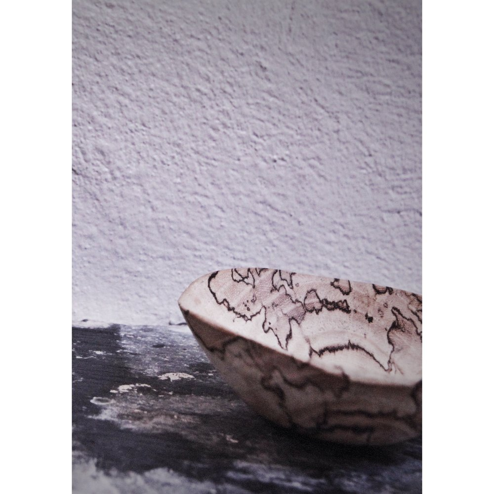 Spalted beech small dish- gifted to a friend
