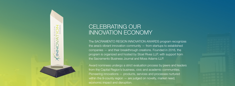2017 Innovation Award Finalist   Athena Intelligence selected as finalist for the 2017 Sacramento Region Innovation Awards.   LEARN MORE