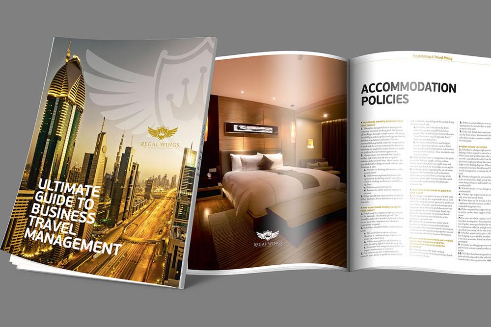 Coverbild: Geschäftsbericht für Hotelkette in Dubai