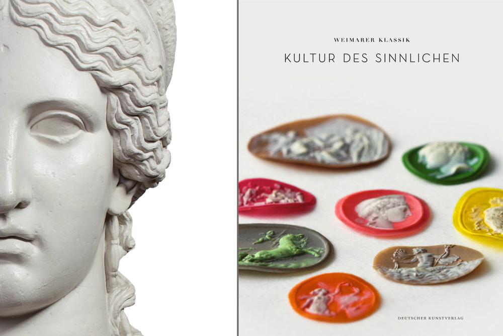 Fotografie Ausstellungskatalog »Kultur des Sinnlichen« für Klassik Stiftung Weimar