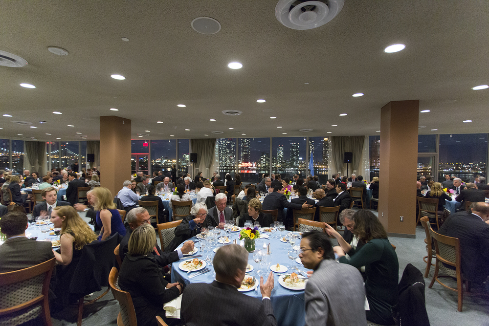 Dinner at the 2014 United Nations Forum