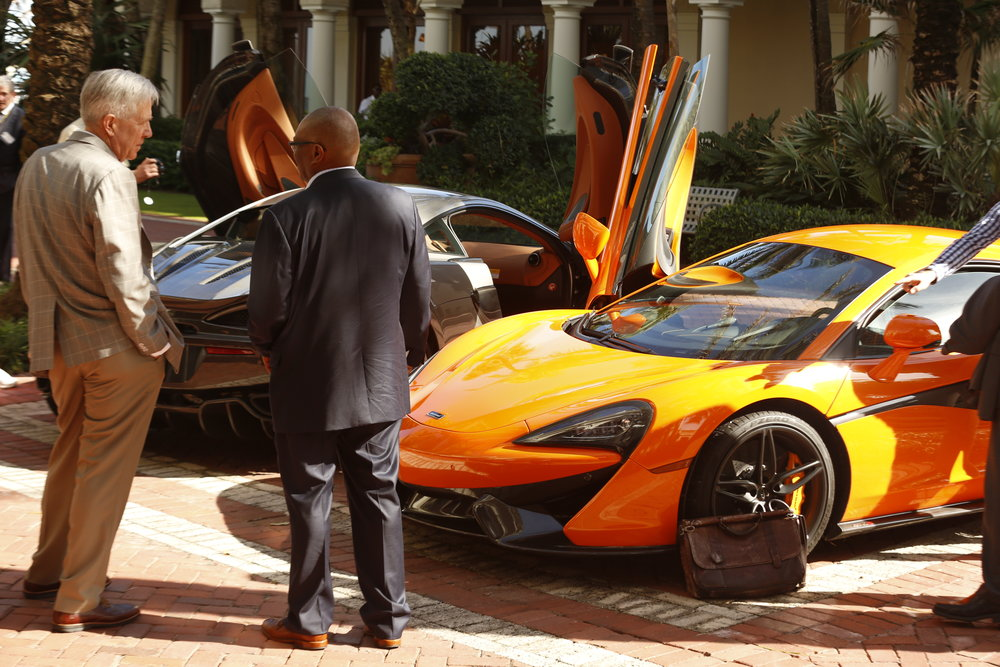 McLaren Automotive offered community members the 'ultimate driving experience'