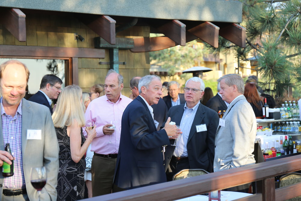 Cocktail Reception at the 2016 La Jolla Forum