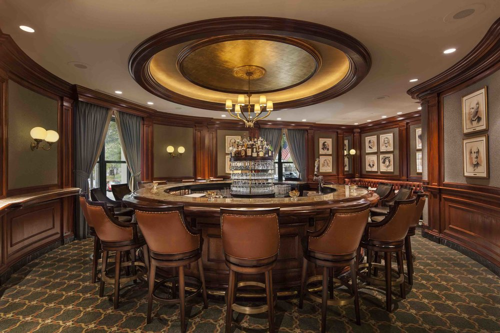 "Round Robin Bar at the Willard InterContinental — it is said the term ""lobbying"" was first coined here"