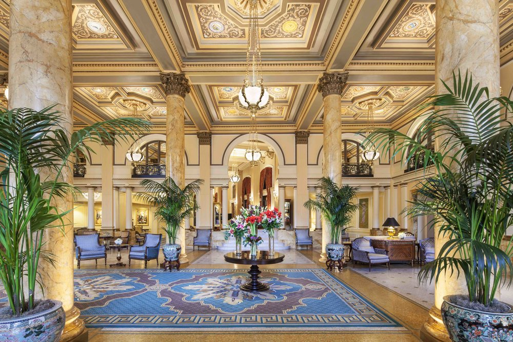 Forum attendees will stay at the historic Willard InterContinental