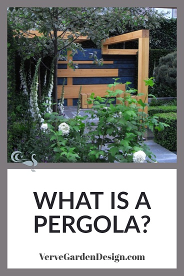 Contemporary Pine Pergola With Open Roof. Designers: Nicole Fischer and Daniel Auderset , Extending Space Garden. Image: Lorraine Young/Verve Garden Design