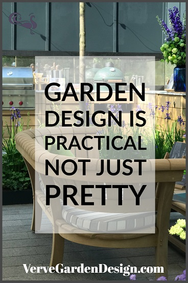 Garden design is practical as well as pretty. Image: Verve Garden Design.