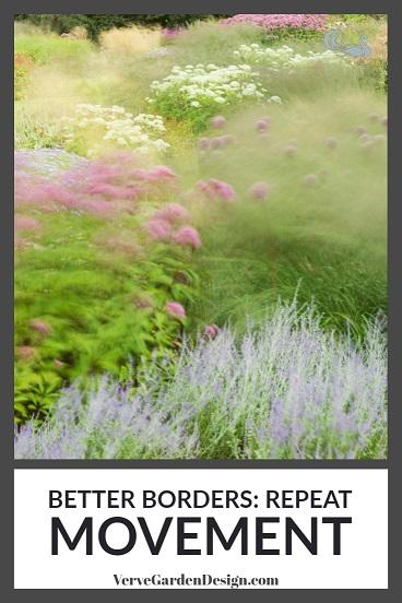 Drifts of gently-moving grasses interspersed between more static plants pulls the eye in. Designer: Piet Oudolf at Trentham Gardens. Image: Chris Denning/Verve Garden Design.