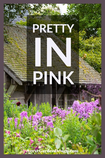 Pink Phlox Gives a Cottage Feel to Wollerton Old Hall in Late Summer. Image: Chris Denning/Verve Garden Design.