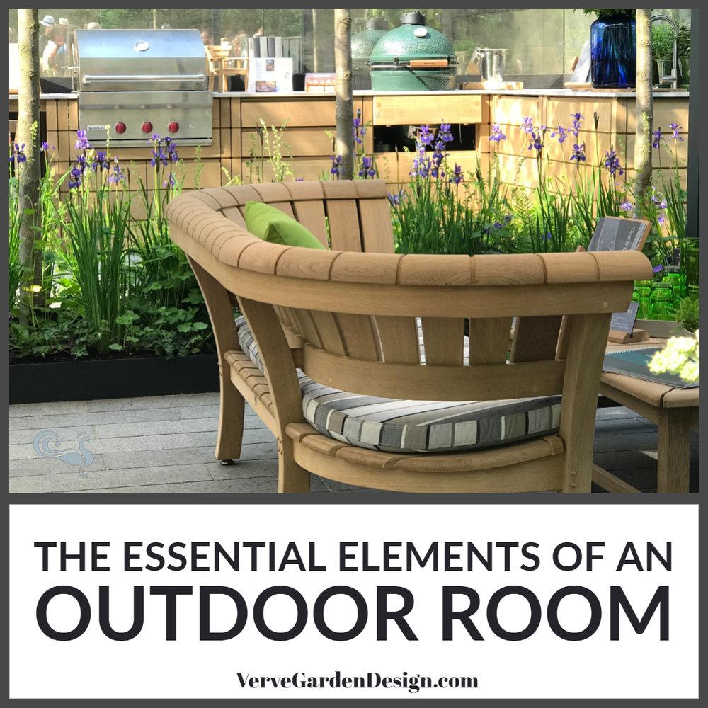 The Essential Elements of An Outdoor Room — Verve Garden Design
