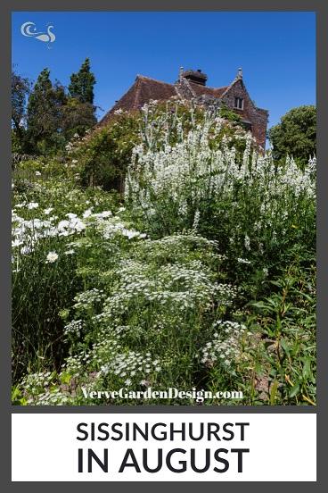 The White Garden at NT Sissinghurst Castle in August. Image: Chris Denning/Verve Garden Design.
