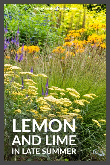 Lemon and Lime Plants at Wollerton Old Hall. Image: Chris Denning/Verve Garden Design.