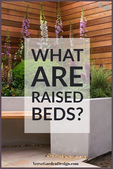 What are garden raised beds? Designer: Jo McCreadie. Image: Verve Garden Design