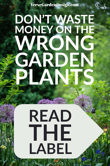 Plant labels should be essential reading.