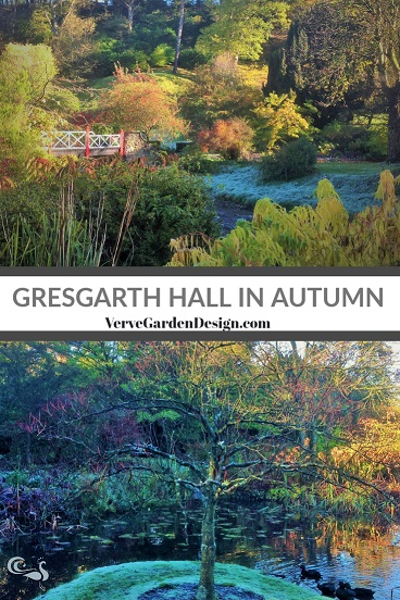 Gresgarth Hall Garden in Autumn. Planting Design: Arabella Lennox-Boyd. Image: Lorraine Young/ Verve Garden Design.