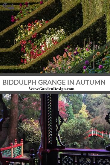 The Dahlia Walk and China Pavilion at Biddulph Grange. Image: Chris Denning/ Verve Garden Design.