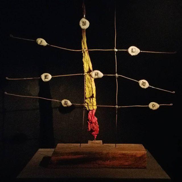 """#cesoir Mixe @ Le Silencio  01:00 - sculpture de David Lynch """"the poor man"""" #Silencioparis  #djrichiereach"""