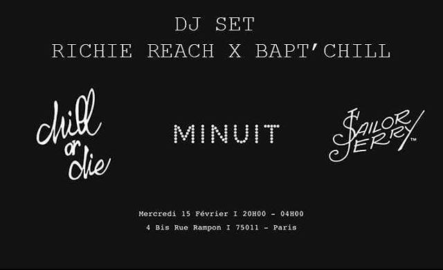 #cesoir @ #parisminuit #guestmix #chillordie #allnight w/ @baptchillordie