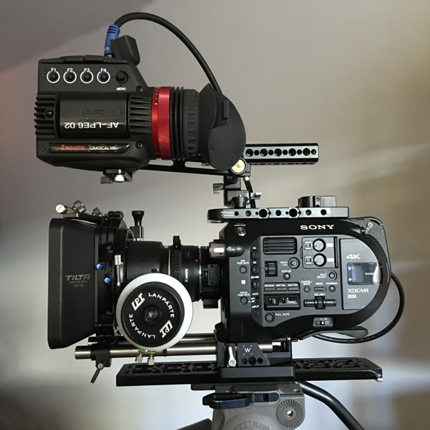Sony PXW-FS7 camera kit