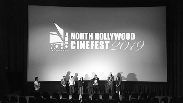 Thanks yo cast, crew and friends who joined us at NoHo Cinefest for the screening of The Stooge! . . #latergram #filmfestival #thestooge #nohocinefest