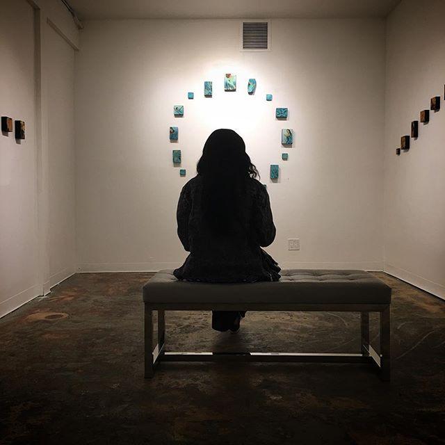 Regarding art . . #artgallery #openingnight #losangeles