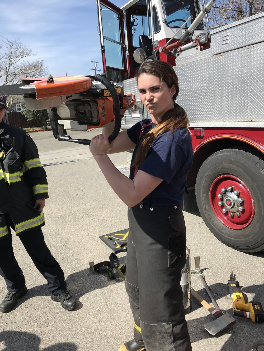 MENTORSHIP - Students may able to ride along for a day and live in the life of a Berkeley firefighter and given information on what school and prerequisites are required to become a professional firefighter.