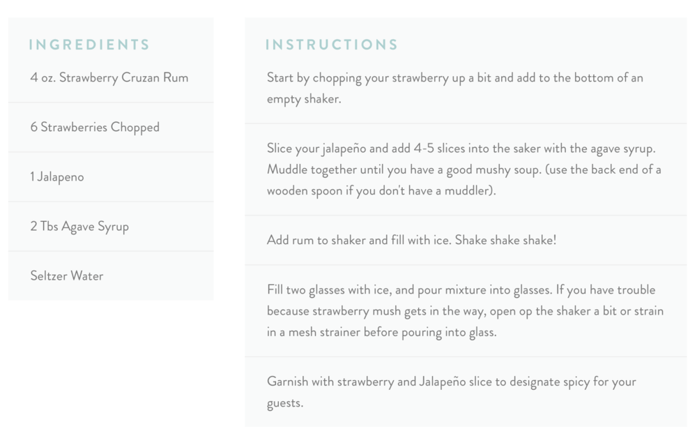 Squarespace For Food Bloggers