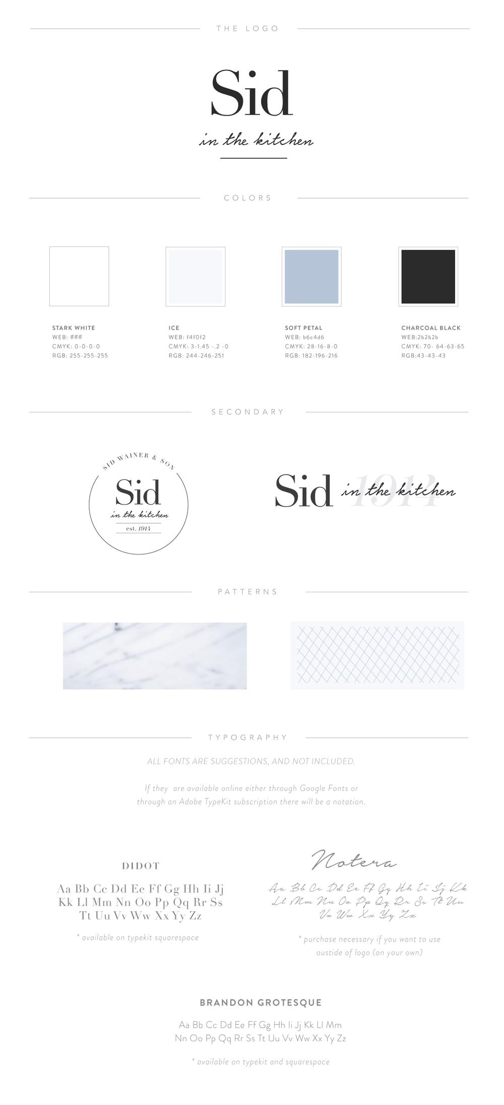 Branding Blog Food Blogger | Logo Design for Gourmet Food Blog | Sid in the Kitchen
