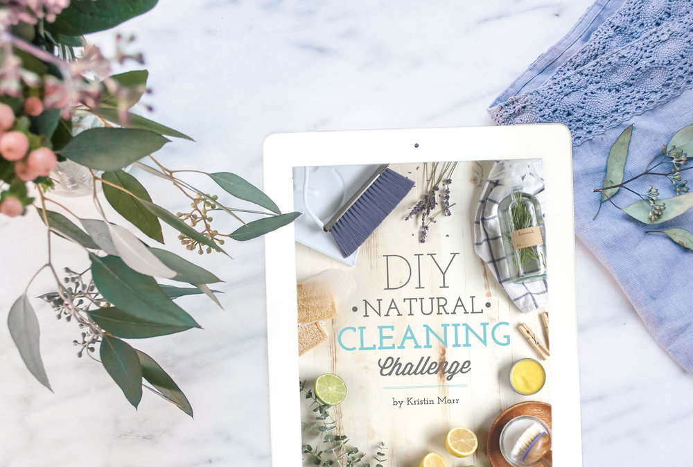 diy natural cleaning - by Kristin Marr