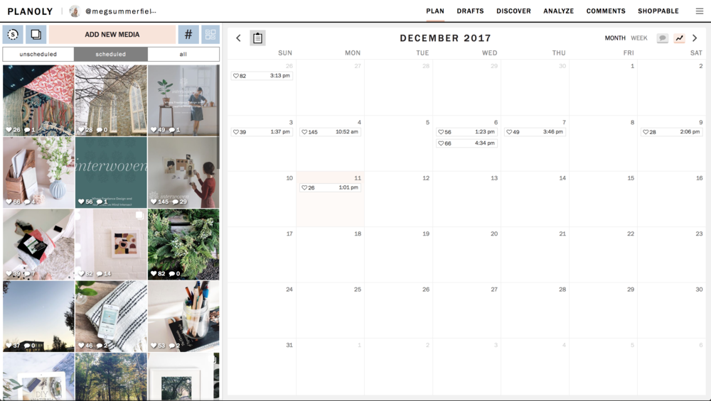 don't mind my unplanned month of december!