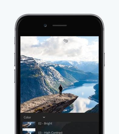 Lightroom App - for iphone