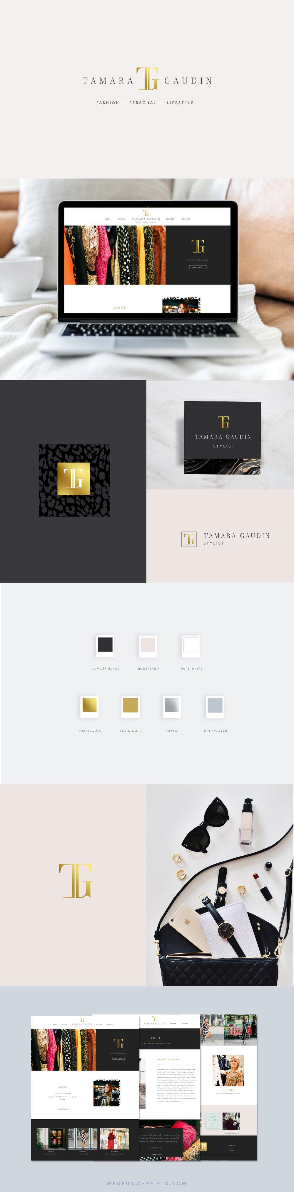 Squarespace Site for Fashion Stylist