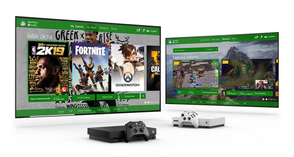 Microsoft Xbox One - Redesign of the Microsoft Xbox One Interface.UI Design   UX Design   UX Research