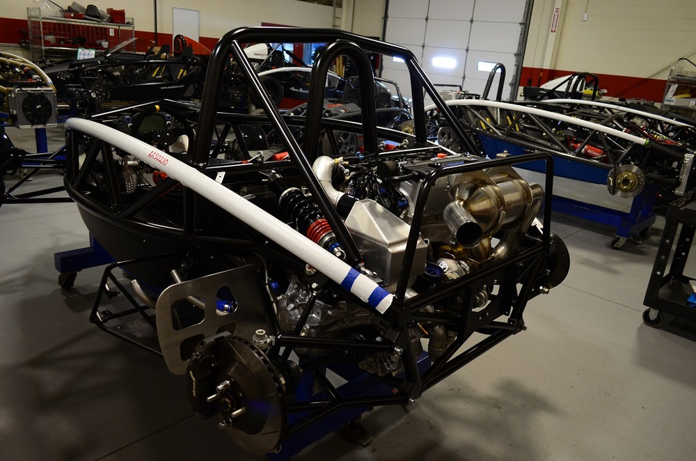 Turbocharged Honda K24 in the Atom Chassis.......