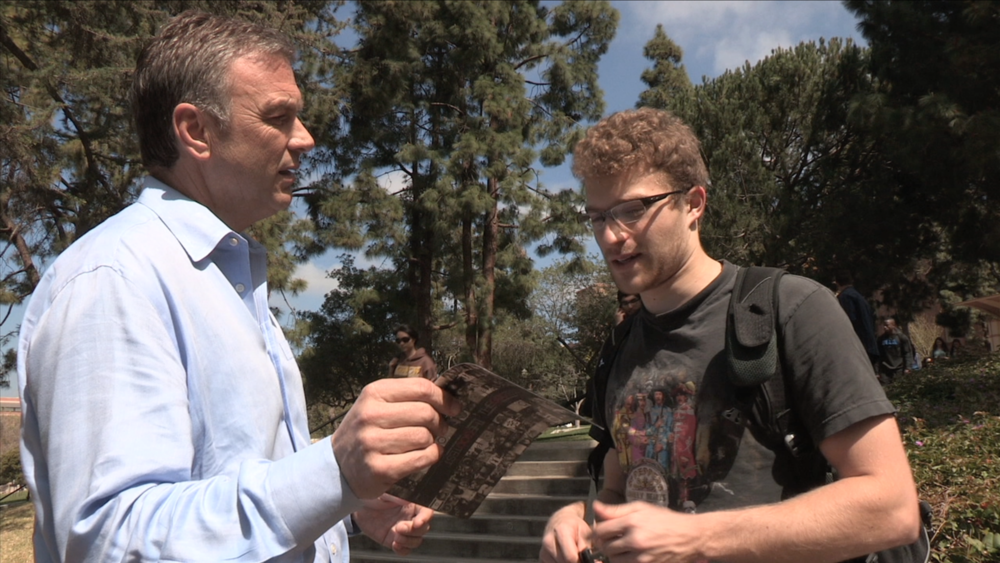 """Doing """"TheGodTest"""" with a UCLA skeptic."""
