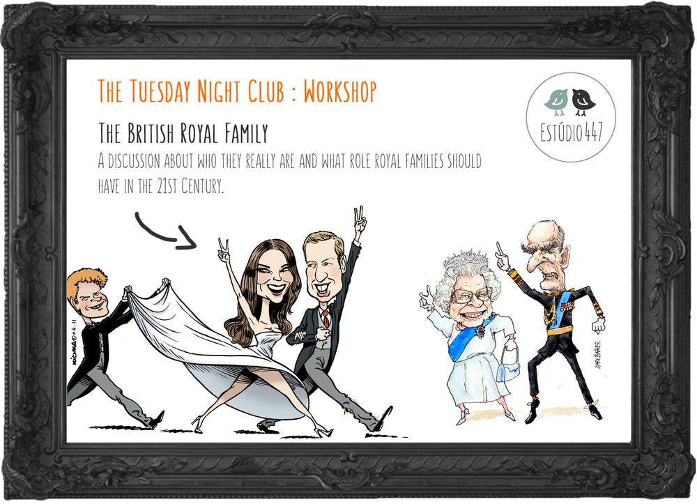 Estúdio447 Coworking Moema & English Club - British Royal Family