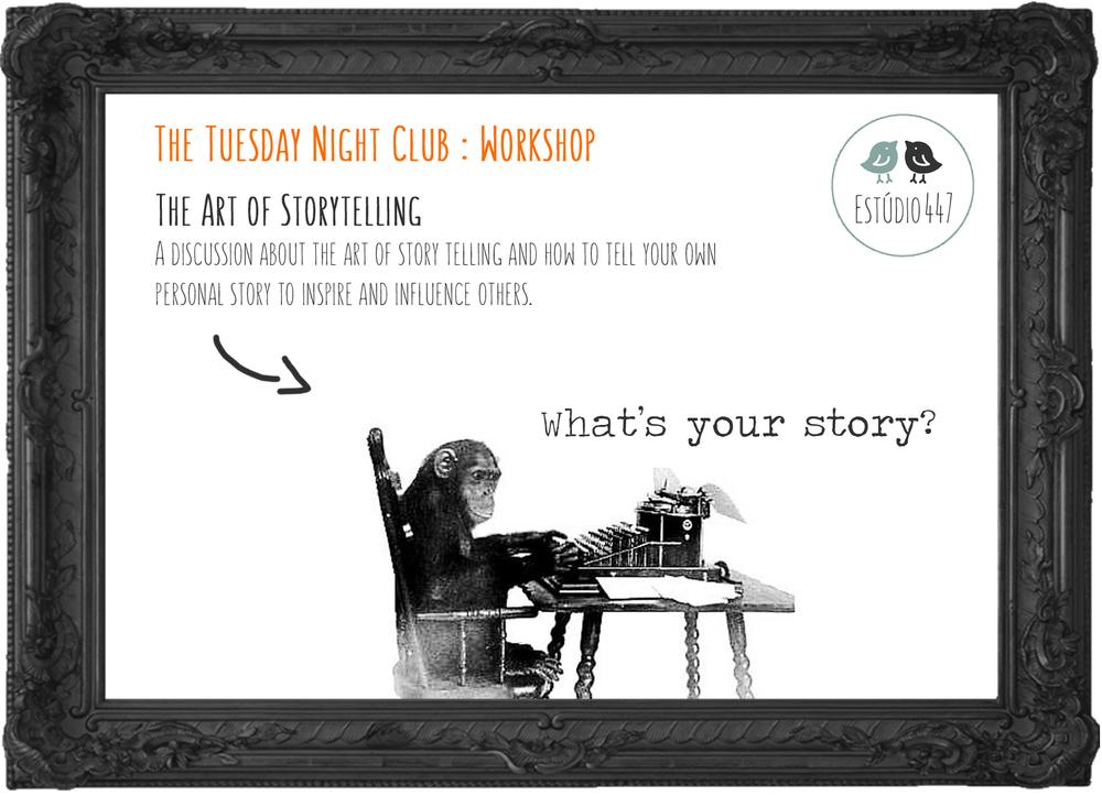 Estúdio447 Coworking Moema & English Club - The art of Storytelling