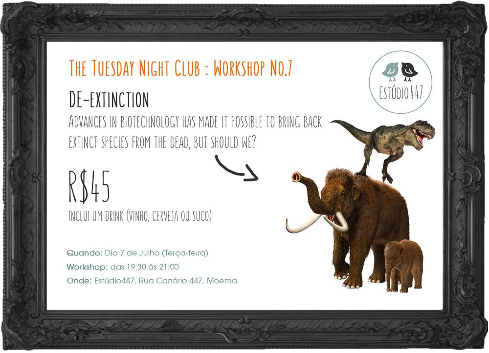 Estúdio447 Coworking Moema & English Club - aulas de inglês - De-extinction