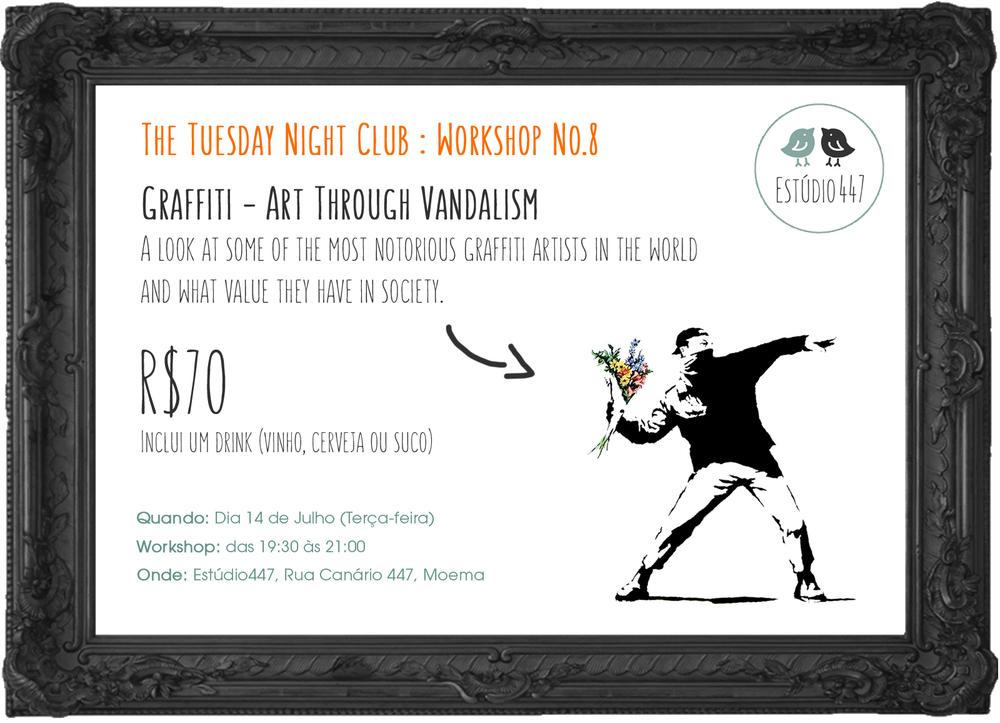 Estúdio447 Coworking Moema & English Club - aulas de inglês - Graffiti Art