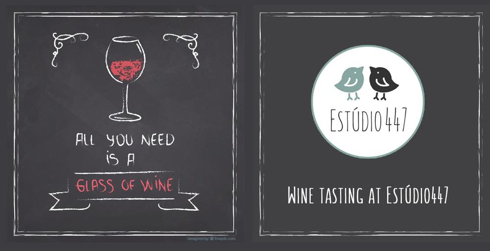 Wine tasting Estúdio447 Coworking Moema