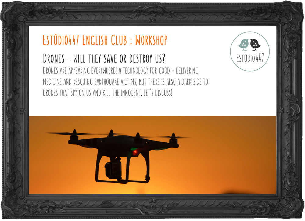 Estúdio447 Coworking Moema & English Club - Drones workshop