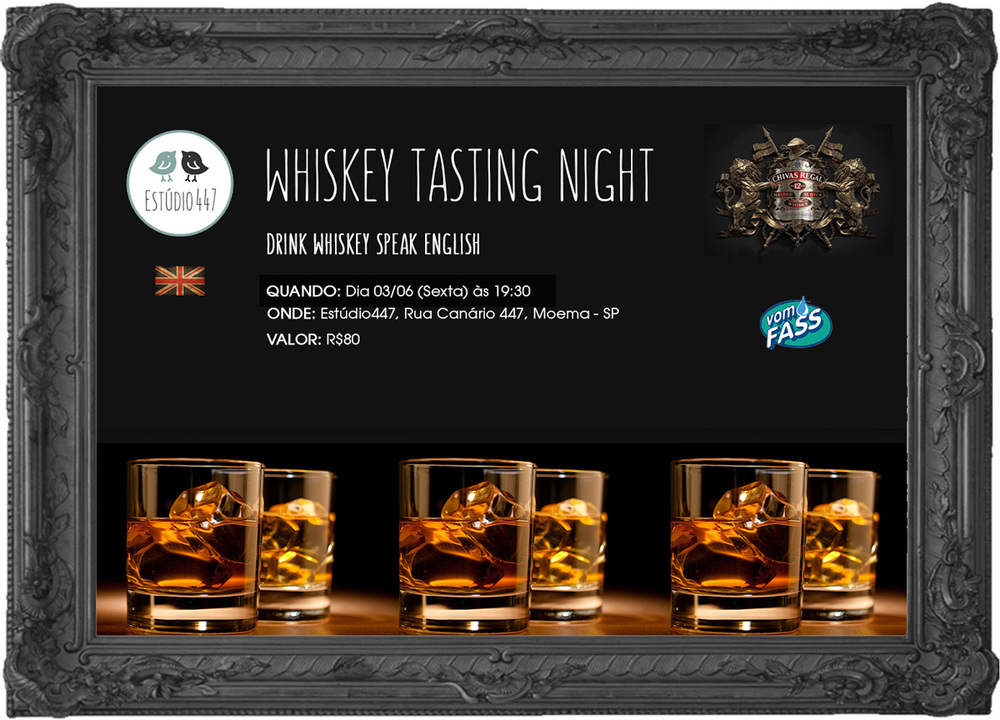 Whiskey Tasting Night at Estúdio447